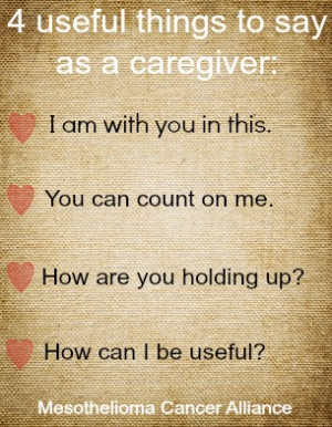 Encouraging Words For Cancer Patients What To Say