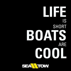 ... cool. #enoughsaid #boats #boatinglife #seatow #boat #quote #boatquote
