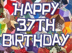 37th Birthday Wishes and Text Messages
