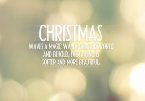 softer and beautiful christmas quote