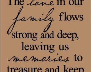 Family Memories Quotes Etsy...