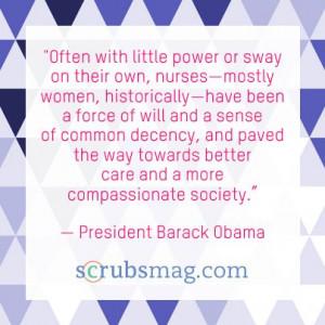 ... inspiring quotes about nurses for Nurses Week. #Nurses #Quotes #