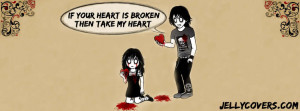 Broken Heart Quotes For Facebook Broken Heart Emo Facebook