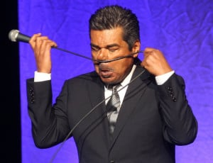 George Lopez performs Friday, Feb. 28, 2014, at the Colosseum at ...