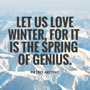 12 Cozy quotes in celebration of the winter solstice