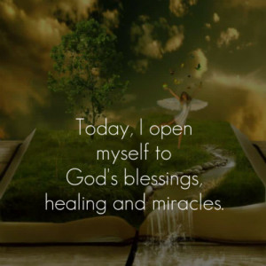 blessing, god, healing, inspirational, life, love, miracle, peace ...