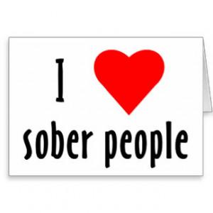 Love Sober People Cards