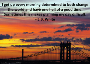 """... good time. Sometimes this makes planning my day difficult."""" – E.B"""
