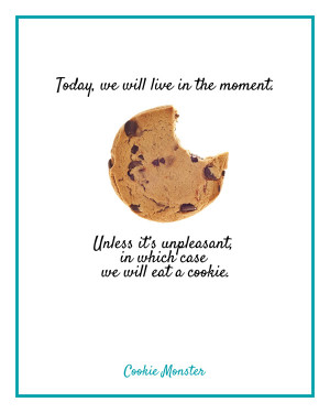 Cookie Monster Quote