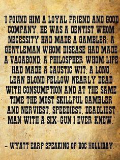 Wyatt Earp Doc Holliday More