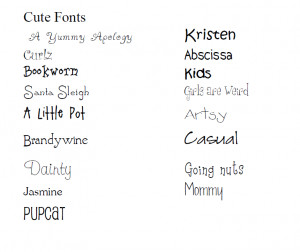 view your own phrase in a cute font phrase font a little pot a yummy ...