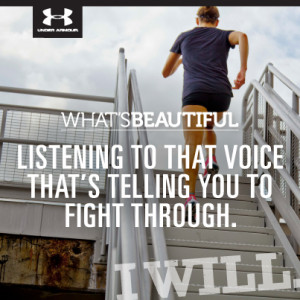 Under Armour Motivational Quotes Sponsored by under armour