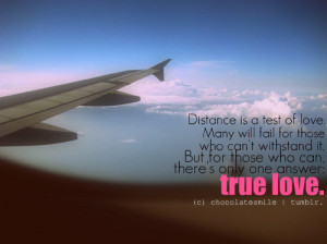 Quotes About Love And Distance #1