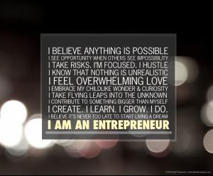 "Download the ""I am an entrepreneur"" desktop wallpaper (1024 x 768 ..."