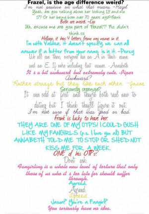 Percy Jackson And Annabeth Chase Quotes annabeth chase frank zhang