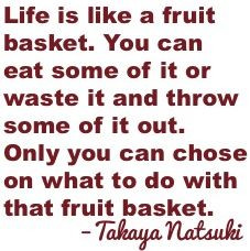 Fruits Basket Quotes