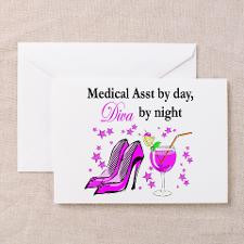 MEDICAL ASSISTANT Greeting Cards (Pk of 10) for