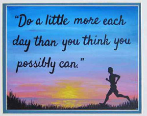 Motivational Print Art Inspirationa l Quotes Wall Art Runner Painting ...