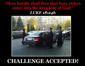 How hardly shall they that have riches enter into the kingdom of God
