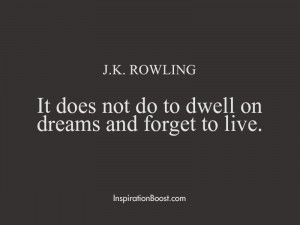 Rowling Life Best Quotes