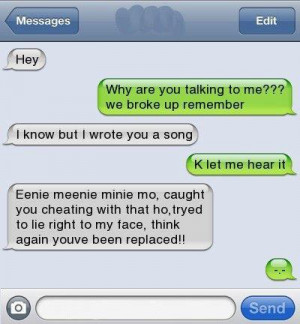 Ishajnek (Leshayahrvey) Cheating,phone Texts Picture Quotes
