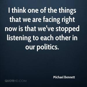 Michael Bennett Quotes