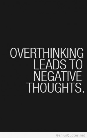 Negative thoughts quotes inspiring