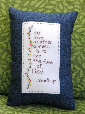 Les Miserables Victor Hugo Quote Hand by LaughRabbitJr on Etsy, $18.00