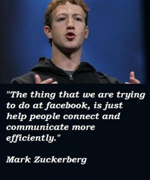 Mark zuckerberg famous quotes 4