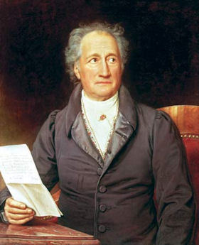 Johann Wolfgang von Goethe (1749 - 1832)