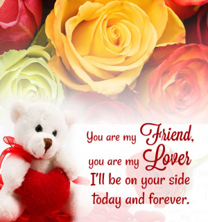 Sample Valentines Love Quotes for Her: