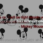 Mickey Mouse Quotes and Sayings