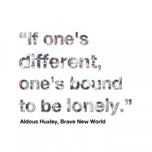 Brave New World quotes about humanity