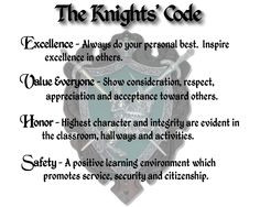 The Knight's Code More