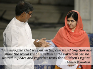 The 13 Greatest Quotes From Malala Yousafzai And Kailash Satyarthi's ...