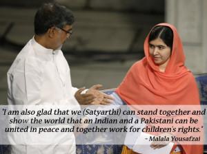 The 13 Greatest Quotes From Malala Yousafzai And Kailash Satyarthi's ...
