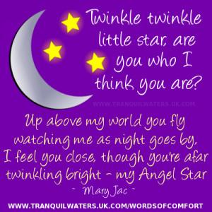 Angels Bright Star Poem