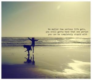 beach, girls, quote, sea, sky