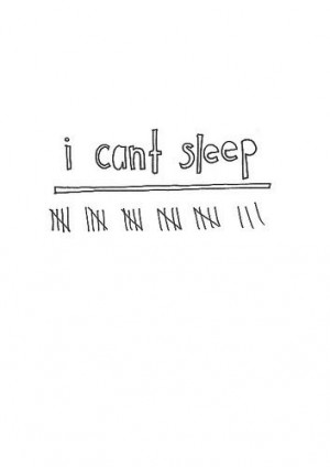 Can't sleep. Have had insomnia since 3rd grade. #nosleep #insomnia