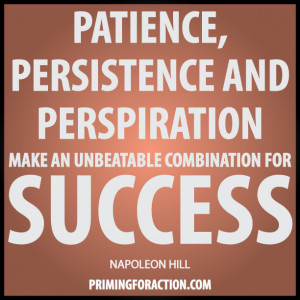 """... make an unbeatable combination for success."""" Napoleon Hill"""