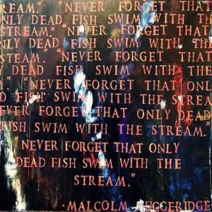 Art, Artist Michelle Yvonne Hood Denman, Malcolm Muggeridge quote ...
