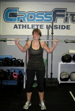 Post Author: Carina Huggins trains at CrossFit Athlete Inside