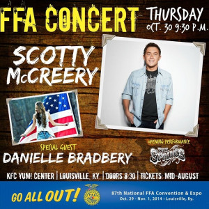 Say hello to the Thursday night #FFA concert headlined by Scotty ...
