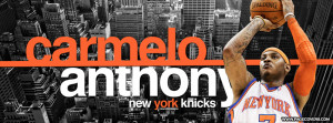 Carmelo Anthony New York Knicks Welcome Cover Comments