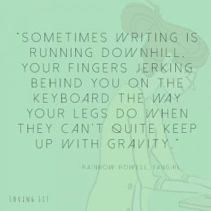 Fangirl Quote