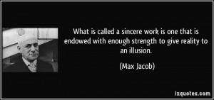 More Max Jacob Quotes
