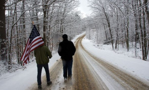 Larry Lessig completes 185-mile walk across New Hampshire, spreading ...