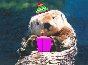 Happy Birthday Otters!