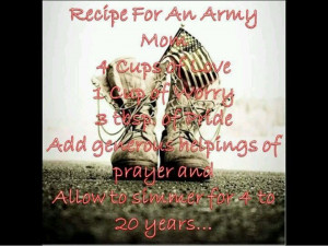 military mom sayings | Army mom