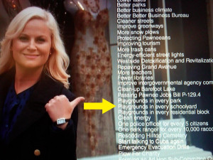 Parks And Recreation Leslie Knope Leslie knope listed some of